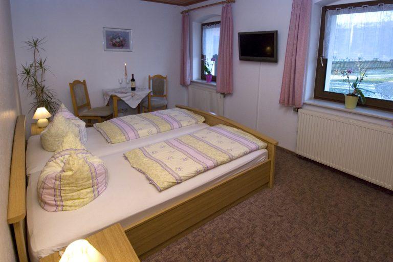 3 Doppelzimmer (auch als Einzelzimmer buchbar)